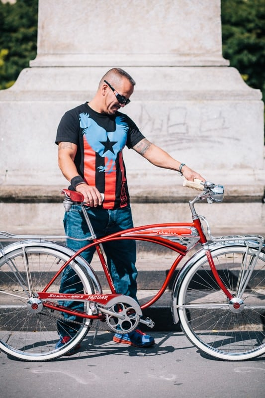 bikers47 - Stylish Portraits of NYC Cyclists With Their Bikes
