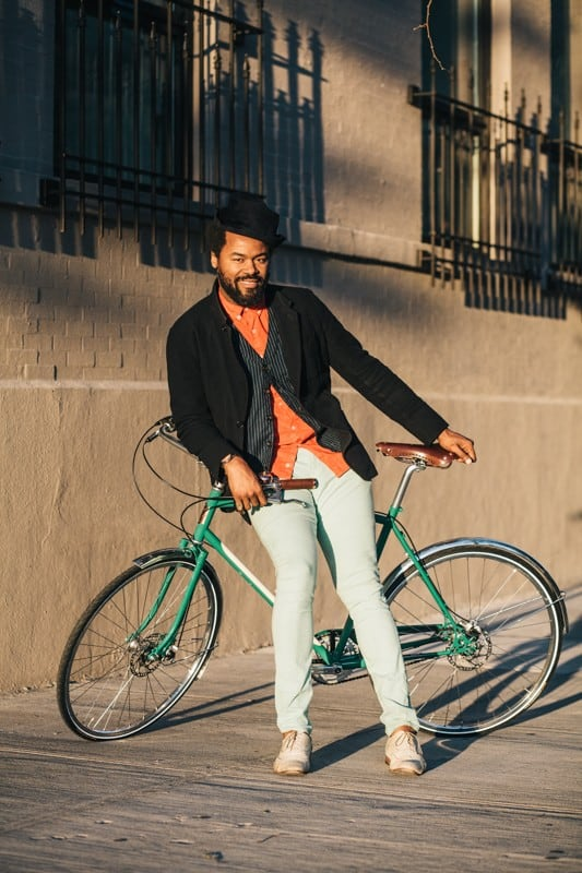 bikers49 - Stylish Portraits of NYC Cyclists With Their Bikes