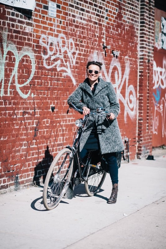bikers51 - Stylish Portraits of NYC Cyclists With Their Bikes