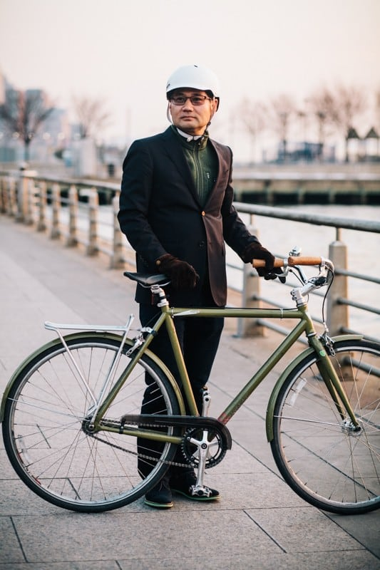 bikers53 - Stylish Portraits of NYC Cyclists With Their Bikes