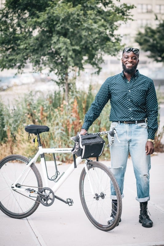 bikers54 - Stylish Portraits of NYC Cyclists With Their Bikes