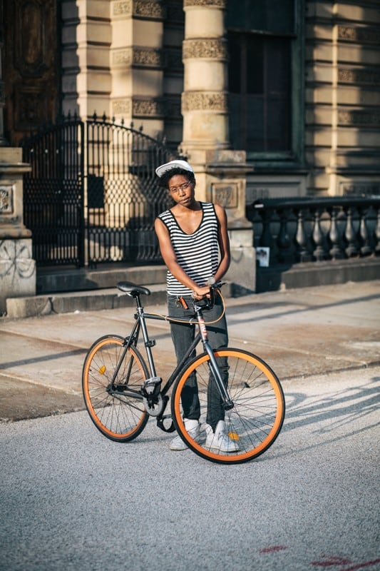 bikers55 - Stylish Portraits of NYC Cyclists With Their Bikes