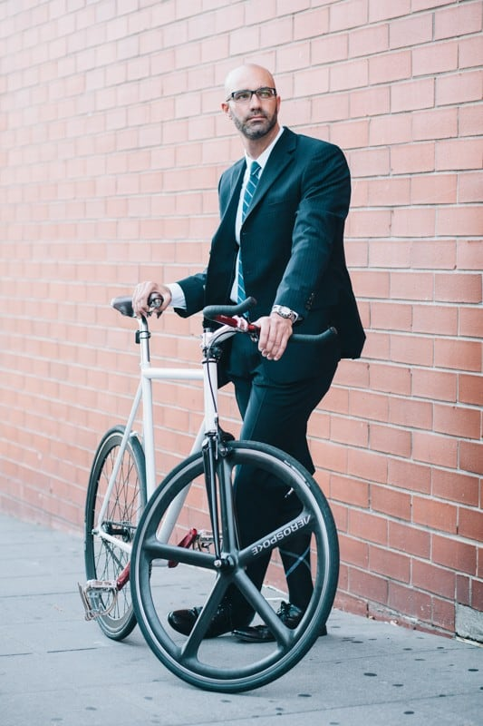 bikers60 - Stylish Portraits of NYC Cyclists With Their Bikes
