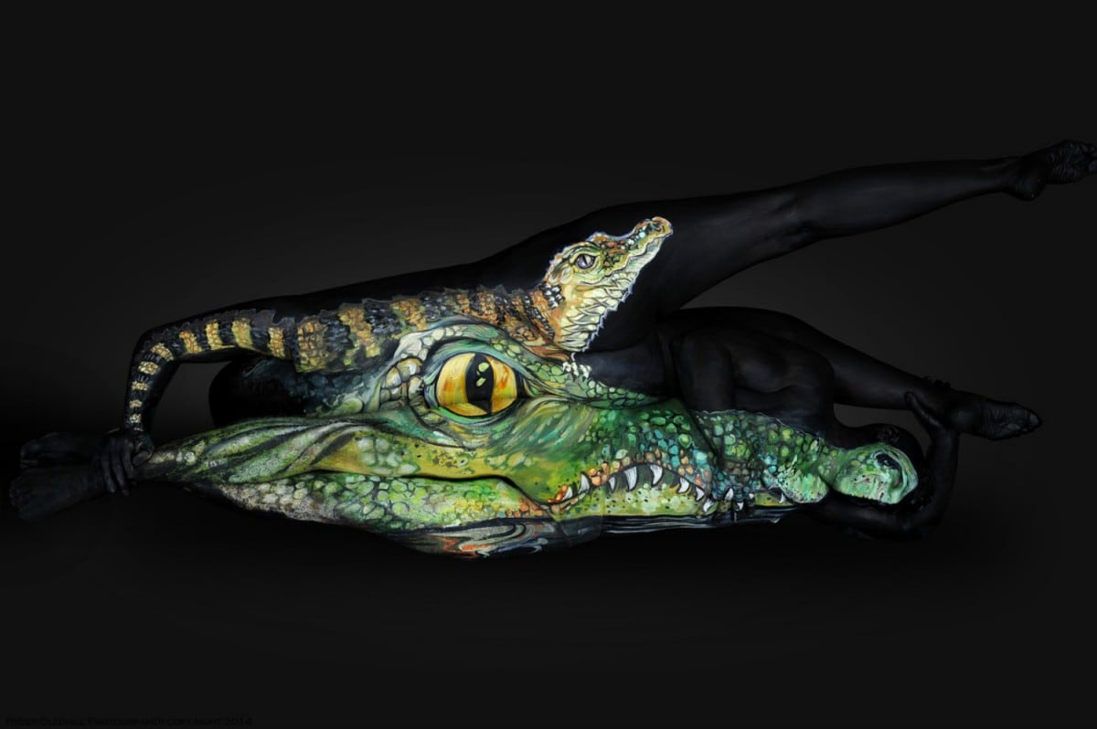 The Amazing Body Art of Shannon Holt -bodypainting, body art