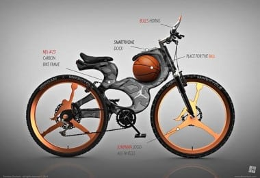 Michael Jordan Inspired Concept Bicycle 4