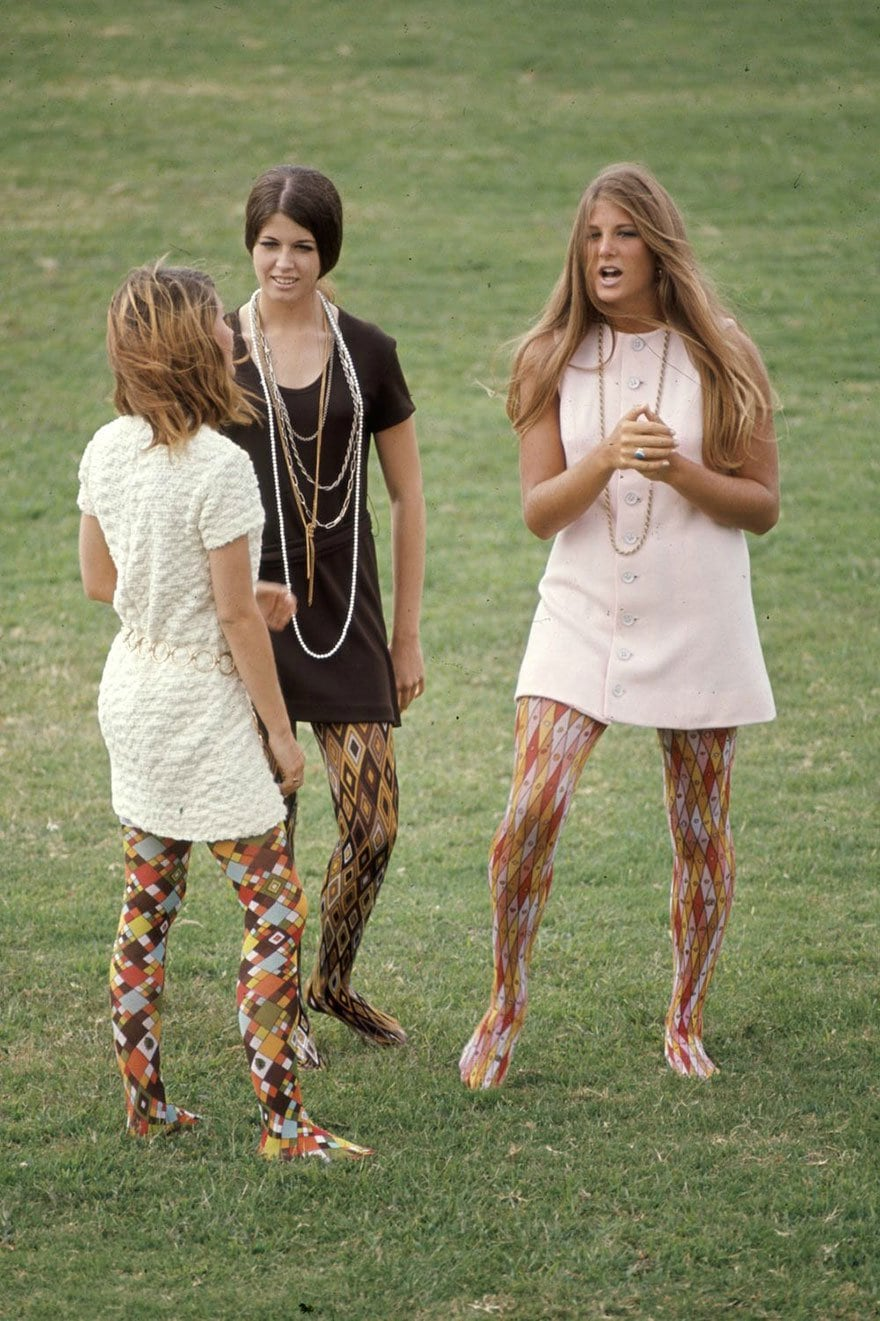Amazing Photos Reveal What High School Students' Fashion Looked Like Back In 1969 -retro, history, fashion photography
