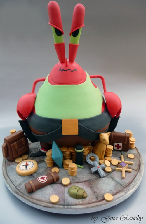 5674955-R3L8T8D-500-mr_krabs_as_lara_coft_cake_by_ginas_cakes-d4wihe01