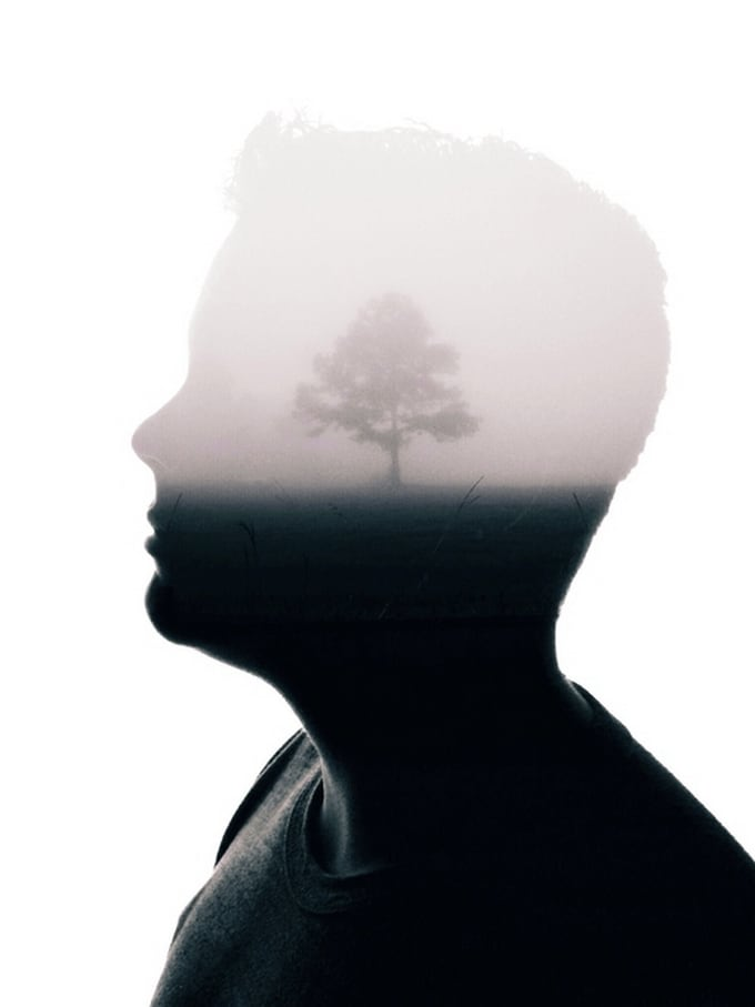 Wisdom For My Children: Double Exposure Portraits by Brandon Kidwell -double exposure