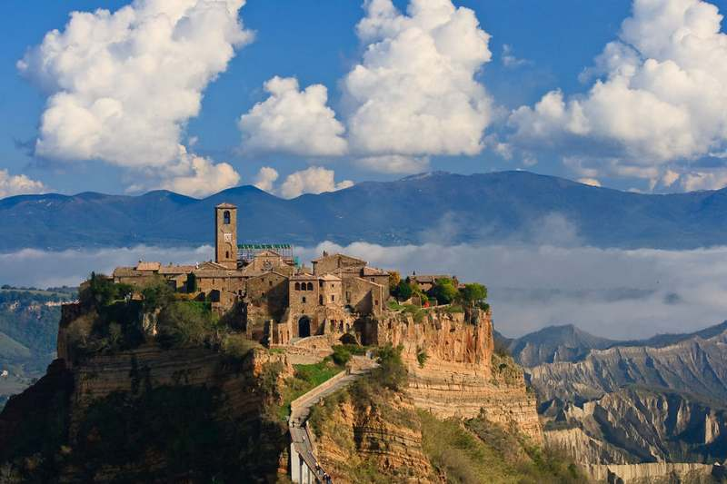 Civita Di Bagnoregio Italy Top 15 Most Stunning Cliff Side Towns And Villages
