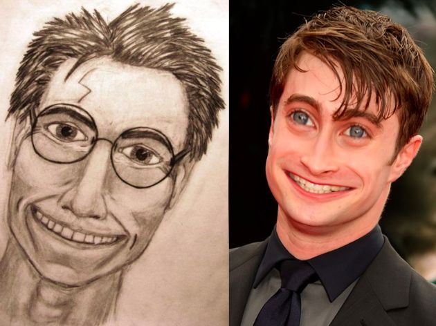 What Celebrities Would Look Like Based On Their Worst Fan Art -celebrities