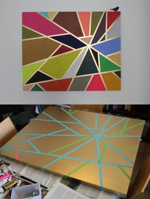 Top 32 Amazing DIY Paintings For Your Blank Walls (13)