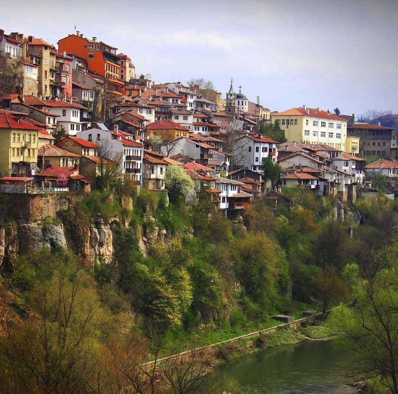Veliko Tarnovo Bulgaria Top 15 Most Stunning Cliff Side Towns And Villages