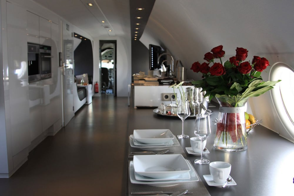 Dutch Hotelier Transforms Soviet Aircraft Into Luxurious Hotel Suite -Netherlands, interior design, Hotels