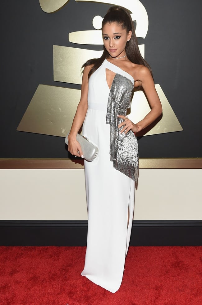ariana-grande-versace-dress-grammys-2015