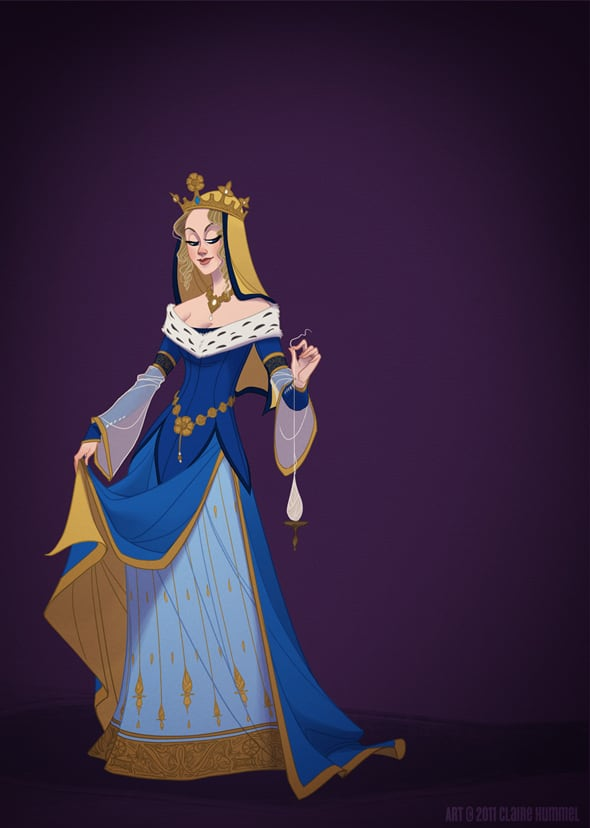 disney-princess-in-accurate-period-clothing-chicquero-fashion-sleeping-beauty