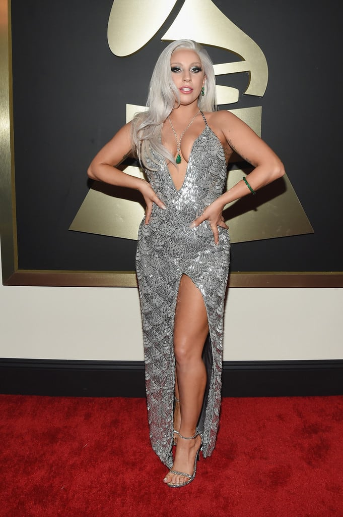 lady-gaga-silver-dress-2015-grammys