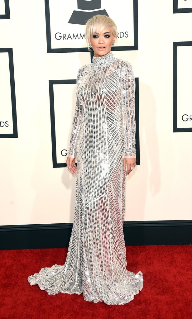 rita-ora-silver-prada-dress-grammys-2015