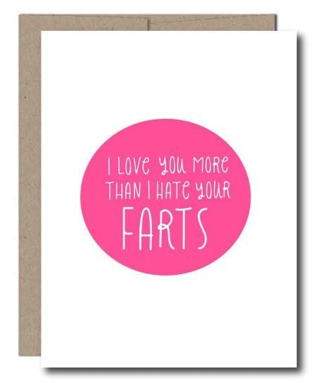 15 Perfectly Honest Valentine's Day Cards -LOVE