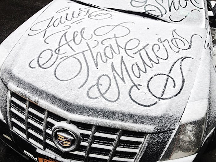 snow script faust ny 03 - Typography: Snow Script by Faust New York