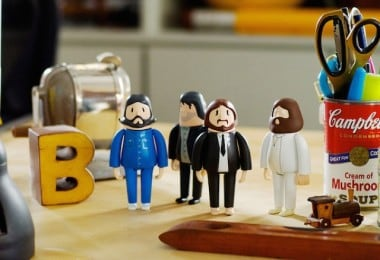 """3D-Printed Dolls Of The Beatles Dressed In Their """"Abbey Road"""" Outfits 2"""