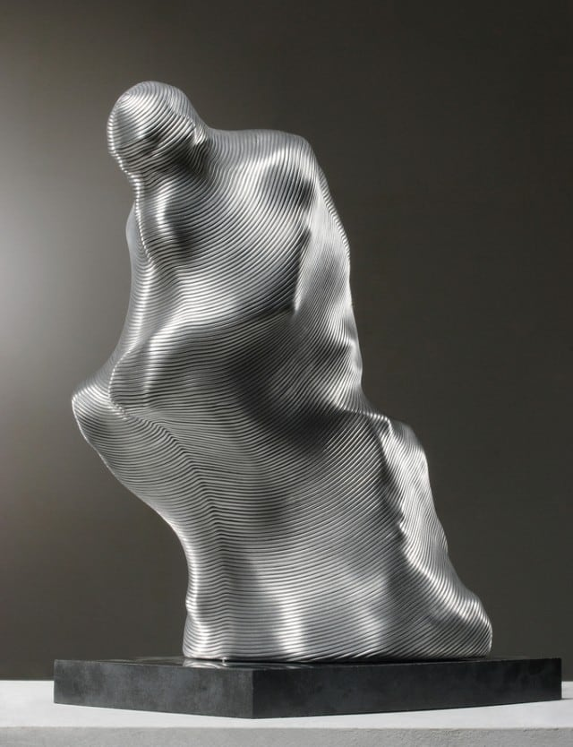 25 Mind-blowing Aluminum Wire Sculptures by Seung Mo Park -wire, sculpture