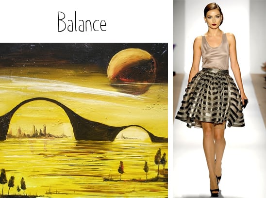 Value And Balance In Art : Apply these principles of art to your personal style