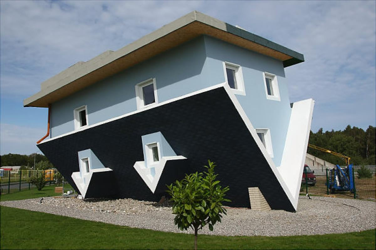 architecture-fetching-home-architecture-design-and-decoration-using-upside-down-on-house-including-black-roof-tile-and-light-blue-exterior-wall-paint-interactive-home-architecture-design-with-unique-u