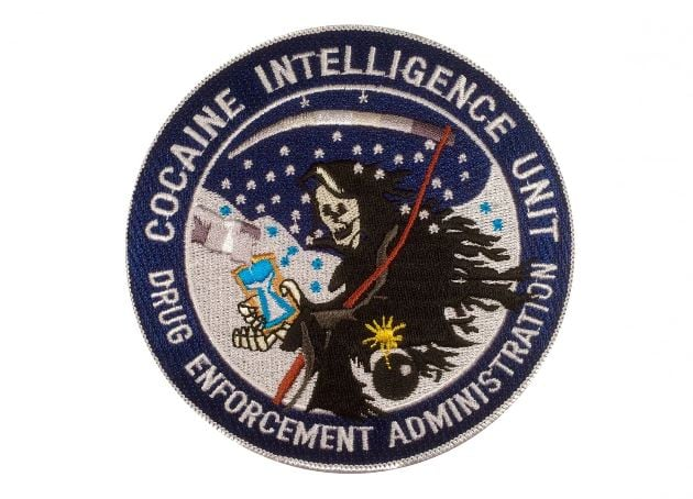13 Creative DEA's Patches For Their Serious Missions -