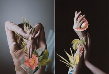 Hypnopompic Floral Collages by Rocio Montoya 1