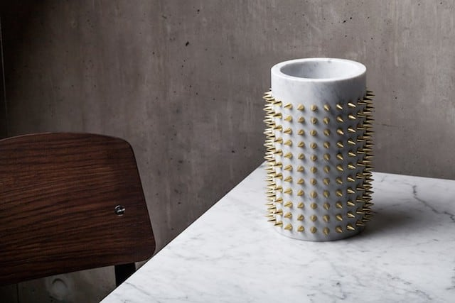 """""""Roman Object"""" With Golden Spikes by Jean-Claude Leblanc -"""