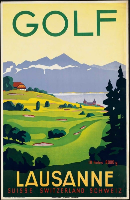 vintagePosters06 521x800 - 60 Beautiful Examples Of Vintage Travel Posters