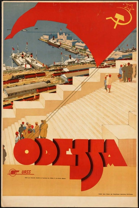 vintagePosters07 534x800 - 60 Beautiful Examples Of Vintage Travel Posters