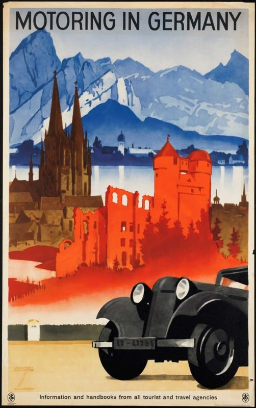 vintagePosters08 502x800 - 60 Beautiful Examples Of Vintage Travel Posters