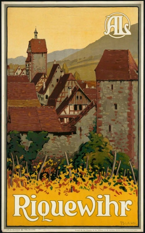 vintagePosters09 500x800 - 60 Beautiful Examples Of Vintage Travel Posters
