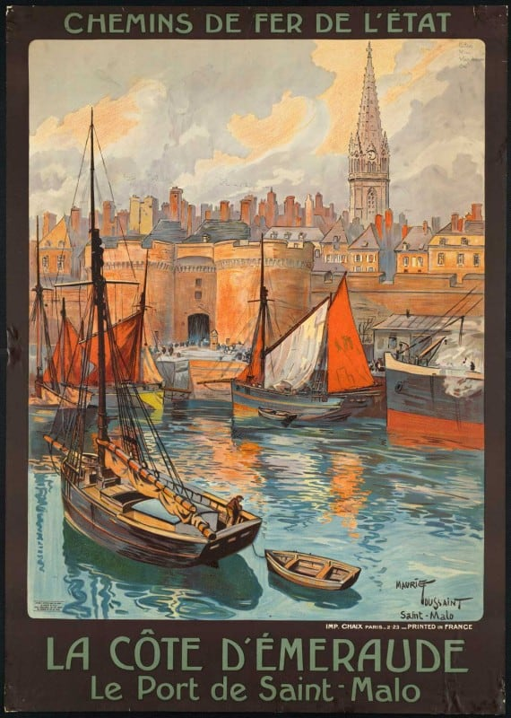 vintagePosters11 570x800 - 60 Beautiful Examples Of Vintage Travel Posters