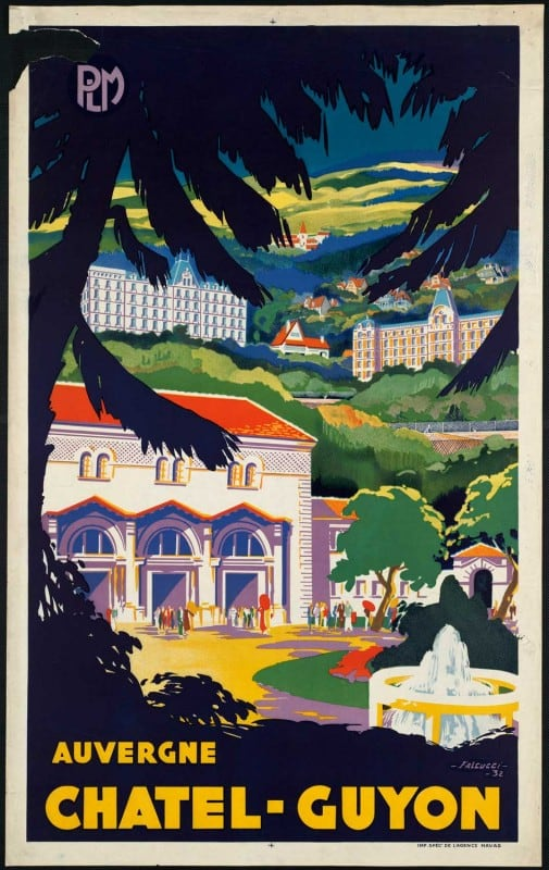 vintagePosters13 505x800 - 60 Beautiful Examples Of Vintage Travel Posters