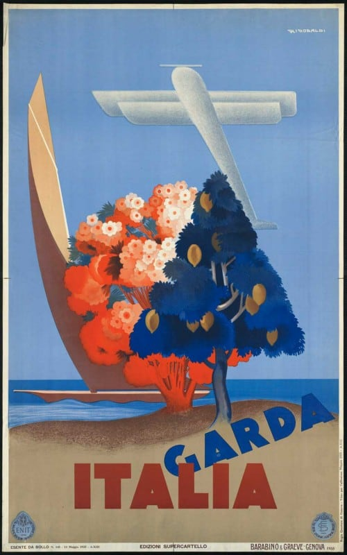 vintagePosters16 500x800 - 60 Beautiful Examples Of Vintage Travel Posters