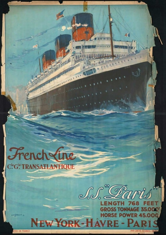 vintagePosters17 564x800 - 60 Beautiful Examples Of Vintage Travel Posters