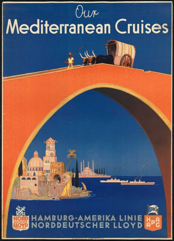 vintagePosters21 577x800 - 60 Beautiful Examples Of Vintage Travel Posters