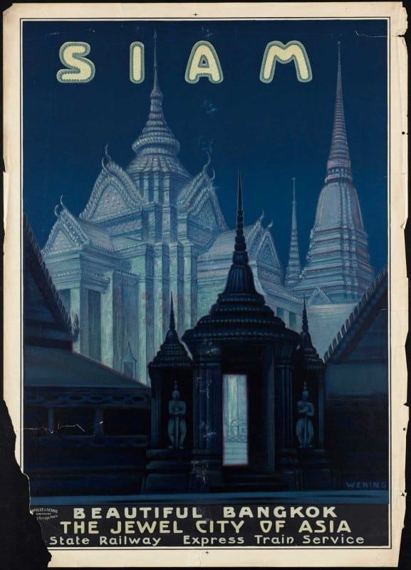 vintagePosters25 577x800 - 60 Beautiful Examples Of Vintage Travel Posters