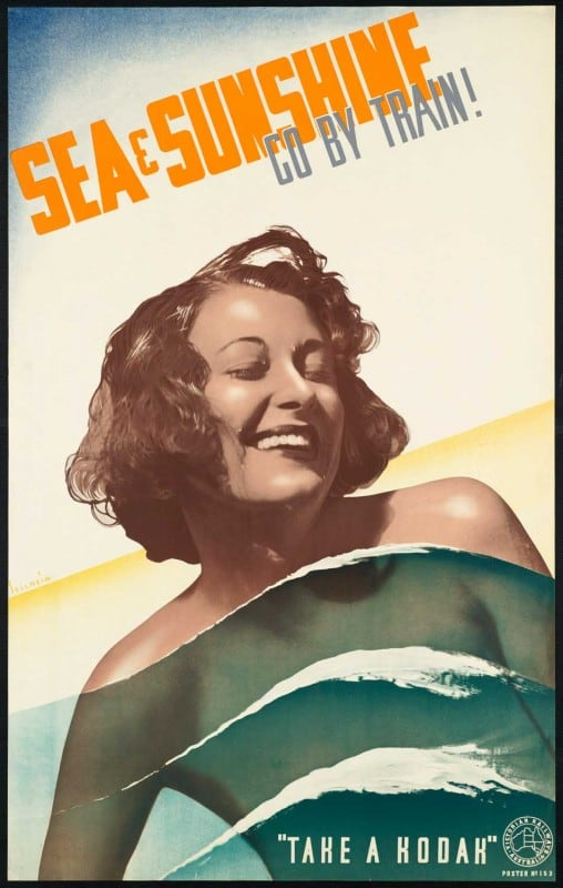 vintagePosters26 508x800 - 60 Beautiful Examples Of Vintage Travel Posters