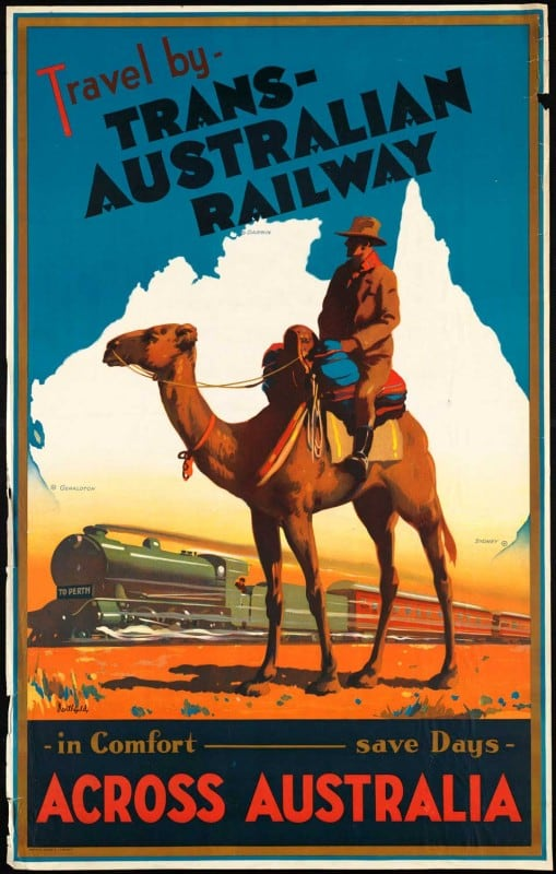 vintagePosters29 509x800 - 60 Beautiful Examples Of Vintage Travel Posters