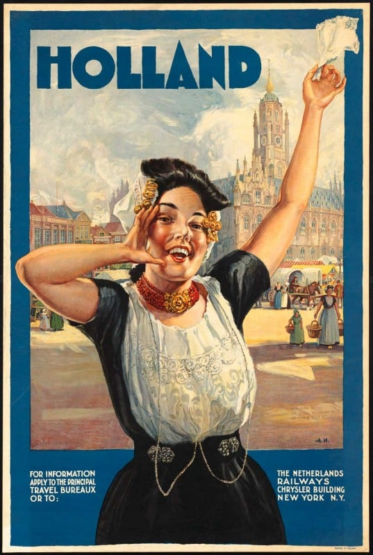 vintagePosters30 537x800 - 60 Beautiful Examples Of Vintage Travel Posters