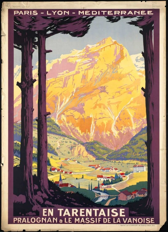vintagePosters31 580x800 - 60 Beautiful Examples Of Vintage Travel Posters