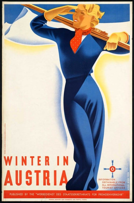 vintagePosters36 530x800 - 60 Beautiful Examples Of Vintage Travel Posters