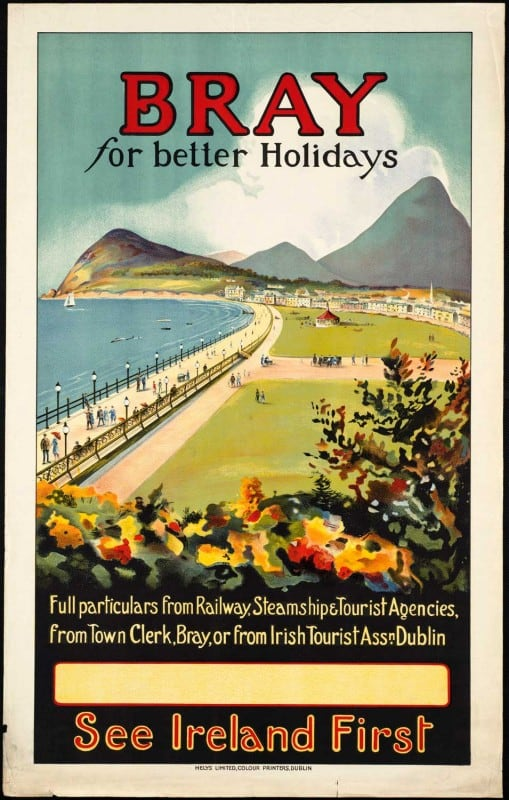 vintagePosters37 509x800 - 60 Beautiful Examples Of Vintage Travel Posters