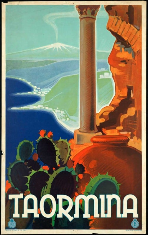 vintagePosters38 502x800 - 60 Beautiful Examples Of Vintage Travel Posters