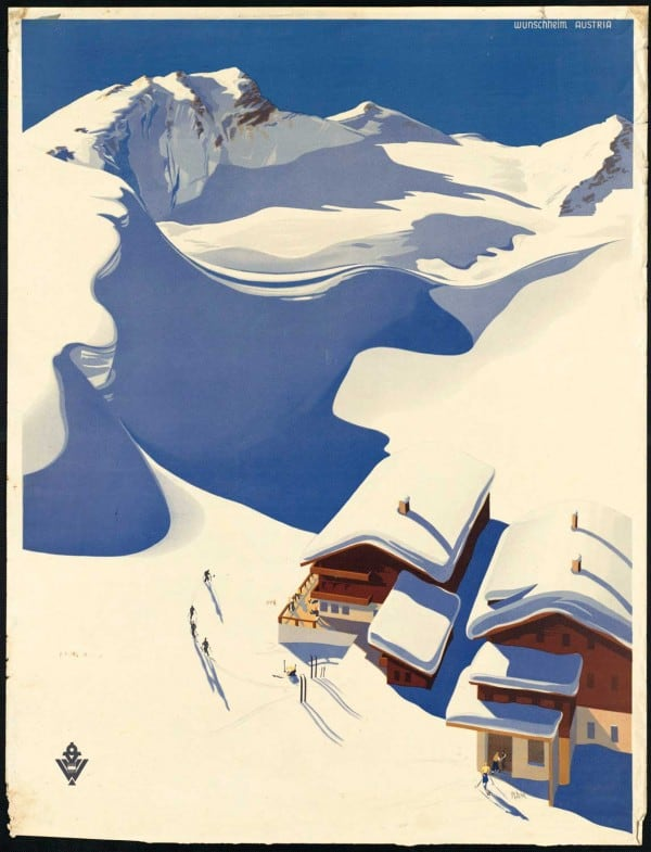 vintagePosters40 600x785 - 60 Beautiful Examples Of Vintage Travel Posters