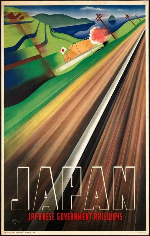 vintagePosters41 509x800 - 60 Beautiful Examples Of Vintage Travel Posters