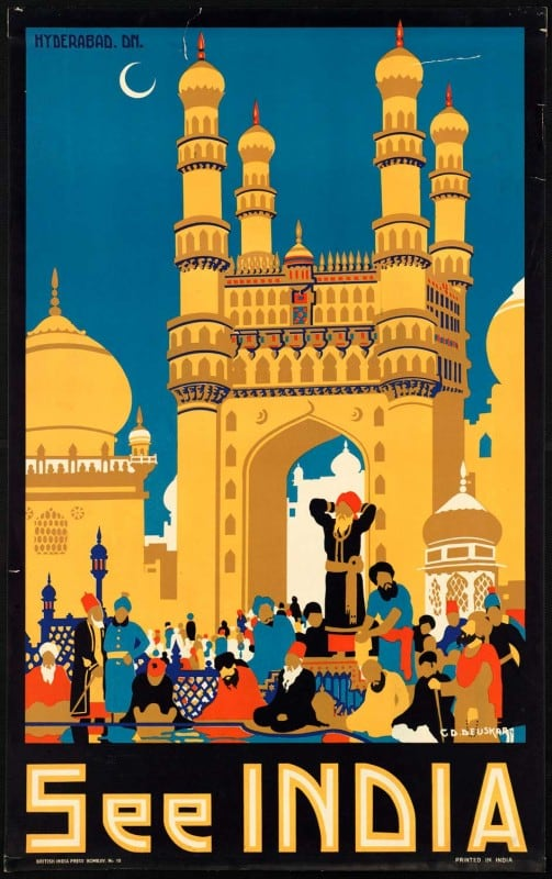 vintagePosters45 503x800 - 60 Beautiful Examples Of Vintage Travel Posters